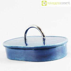 Gabbianelli, scatola in ceramica blu con manico (3)