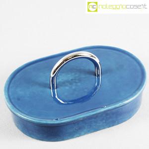 Gabbianelli, scatola in ceramica blu con manico (4)
