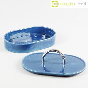 Gabbianelli, scatola in ceramica blu con manico (5)