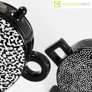 Mas Ceramiche, coppia teiere nere postmodern, Massimo Materassi (5)
