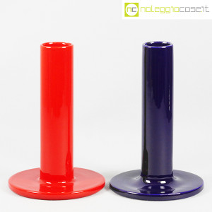 Parravicini Ceramiche, vasi rosso e blu a collo alto (1)