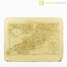 Pietra litografica mappa Italia Centrale