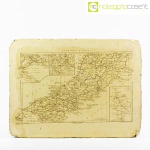 Pietra litografica per stampa mappa Italia Centrale (1)