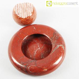 Up&Up, posacenere e sfera in marmo rosso (4)