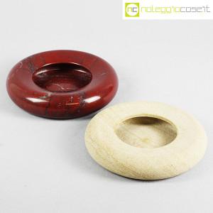 Up&Up, posacenere e sfera in marmo rosso (9)