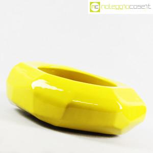 Vaso giallo sfaccettato grande (3)