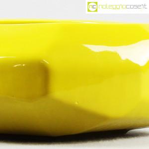 Vaso giallo sfaccettato grande (8)
