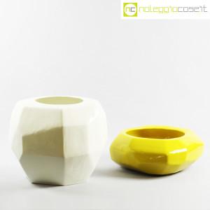 Vaso giallo sfaccettato grande (9)