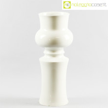 Ceramiche Pozzi vaso sagomato bianco