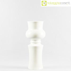 Ceramiche Franco Pozzi, grande vaso sagomato bianco, Ambrogio Pozzi (2)