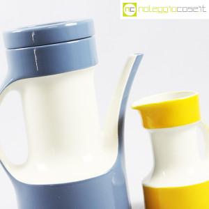 Pagnossin Ceramiche, brocca azzurra e bricco giallo (6)