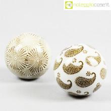 Sfere in ceramica decorate set 02