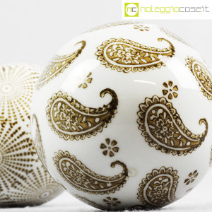 Sfere in ceramica decorate (set 02) (8)
