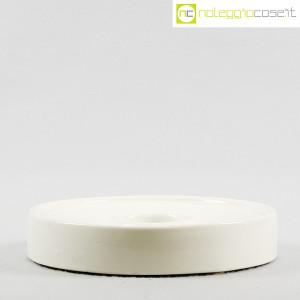Ceramiche Brambilla, posacenere tondo bianco, Angelo Mangiarotti (2)