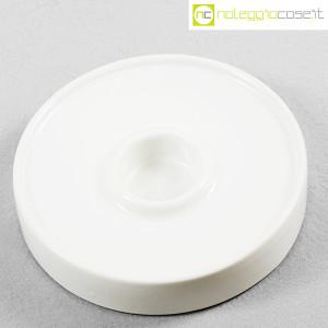 Ceramiche Brambilla, posacenere tondo bianco, Angelo Mangiarotti (4)
