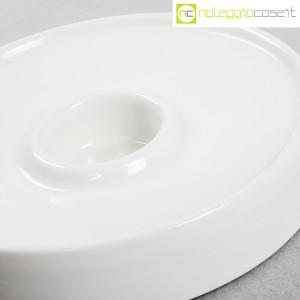 Ceramiche Brambilla, posacenere tondo bianco, Angelo Mangiarotti (5)