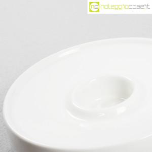 Ceramiche Brambilla, posacenere tondo bianco, Angelo Mangiarotti (7)