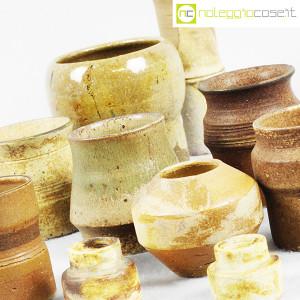 Ceramiche Franco Pozzi, piccoli vasi serie Rustica, set 02 (10pz.), Ambrogio Pozzi (7)