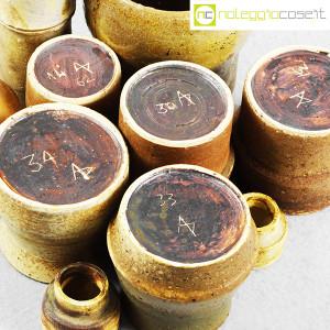 Ceramiche Franco Pozzi, piccoli vasi serie Rustica, set 02 (10pz.), Ambrogio Pozzi (8)
