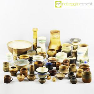 Ceramiche Franco Pozzi, piccoli vasi serie Rustica, set 02 (10pz.), Ambrogio Pozzi (9)