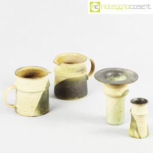 Ceramiche Franco Pozzi, set brocche e vasi decoro verde (4pz.), Ambrogio Pozzi (5)