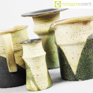 Ceramiche Franco Pozzi, set brocche e vasi decoro verde (4pz.), Ambrogio Pozzi (7)