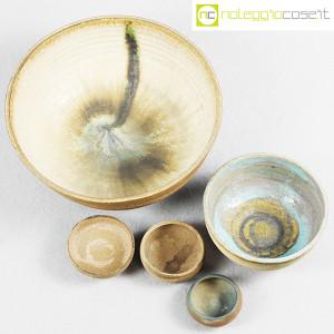 Ceramiche Franco Pozzi, set ciotole serie Rustica (5pz.), Ambrogio Pozzi (4)