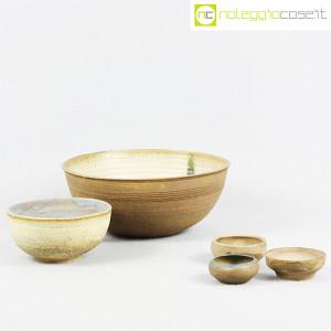 Ceramiche Franco Pozzi, set ciotole serie Rustica (5pz.), Ambrogio Pozzi (5)