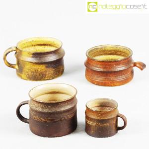 Ceramiche Franco Pozzi, set tazze con manico serie Rustica (4pz.), Ambrogio Pozzi (1)