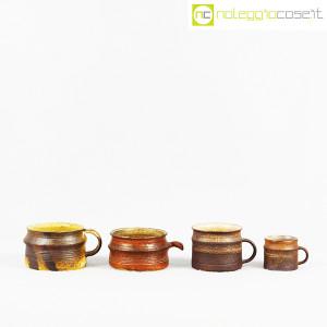 Ceramiche Franco Pozzi, set tazze con manico serie Rustica (4pz.), Ambrogio Pozzi (2)