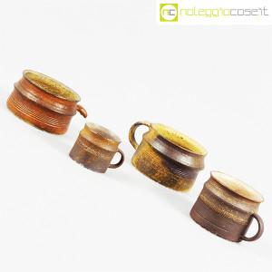 Ceramiche Franco Pozzi, set tazze con manico serie Rustica (4pz.), Ambrogio Pozzi (3)