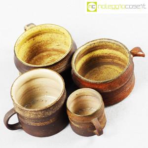 Ceramiche Franco Pozzi, set tazze con manico serie Rustica (4pz.), Ambrogio Pozzi (4)