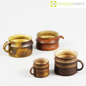 Ceramiche Franco Pozzi, set tazze con manico serie Rustica (4pz.), Ambrogio Pozzi (5)