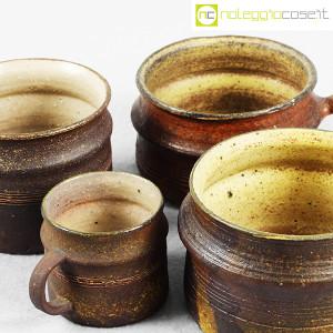 Ceramiche Franco Pozzi, set tazze con manico serie Rustica (4pz.), Ambrogio Pozzi (6)