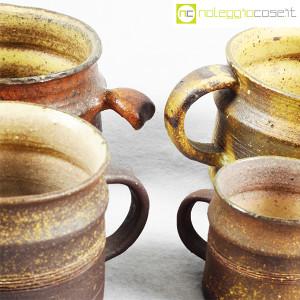 Ceramiche Franco Pozzi, set tazze con manico serie Rustica (4pz.), Ambrogio Pozzi (7)