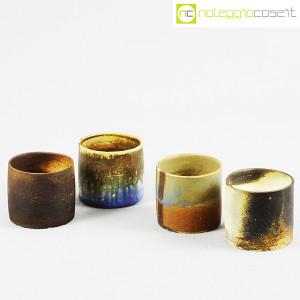 Ceramiche Franco Pozzi, set vasi a bicchiere serie Rustica (4pz.), Ambrogio Pozzi (1)