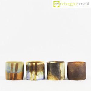 Ceramiche Franco Pozzi, set vasi a bicchiere serie Rustica (4pz.), Ambrogio Pozzi (2)