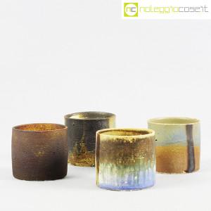 Ceramiche Franco Pozzi, set vasi a bicchiere serie Rustica (4pz.), Ambrogio Pozzi (3)
