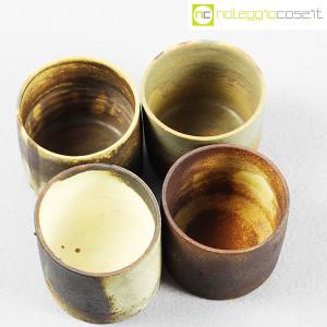 Ceramiche Franco Pozzi, set vasi a bicchiere serie Rustica (4pz.), Ambrogio Pozzi (4)