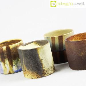 Ceramiche Franco Pozzi, set vasi a bicchiere serie Rustica (4pz.), Ambrogio Pozzi (6)