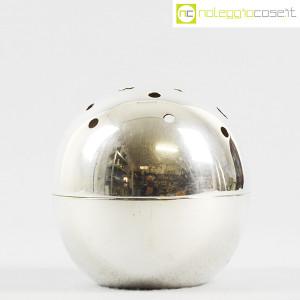 Christofle, vaso sfera Mars Silver, Lino Sabattini (2)