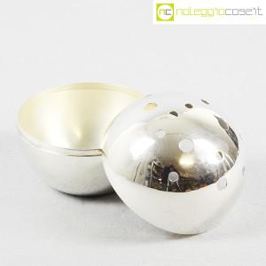 Christofle, vaso sfera Mars Silver, Lino Sabattini (5)