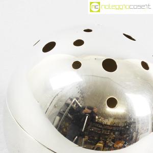 Christofle, vaso sfera Mars Silver, Lino Sabattini (6)