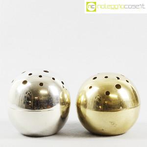 Christofle, vaso sfera Mars Silver, Lino Sabattini (9)