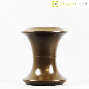 Sartori Ceramiche, vaso a rocchetto marrone (2)