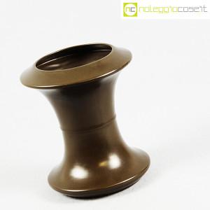 Sartori Ceramiche, vaso a rocchetto marrone (3)