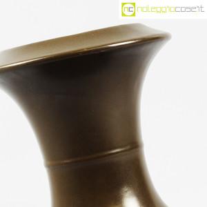Sartori Ceramiche, vaso a rocchetto marrone (5)