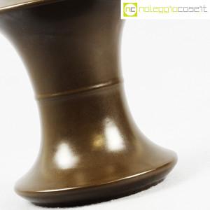 Sartori Ceramiche, vaso a rocchetto marrone (8)