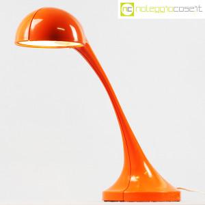 Sormani - Divisione Nucleo, lampada da tavolo Silfio arancione, Roberto Lera (3)