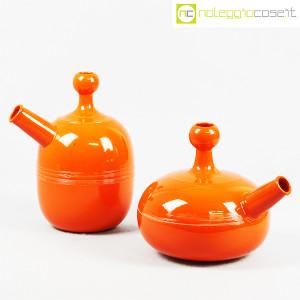 Ceramiche Franco Pozzi, caraffe arancione, Ambrogio Pozzi (1)